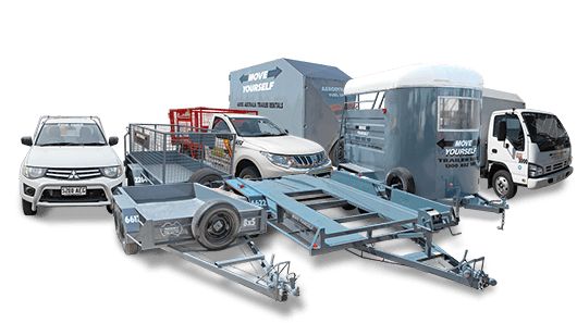 Trailer Hire & Vehicle Rental - One Way Hires Available