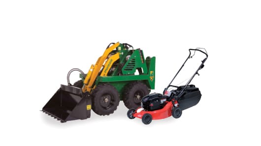 Kanga Mini Digger hire & Lawnmower Hire