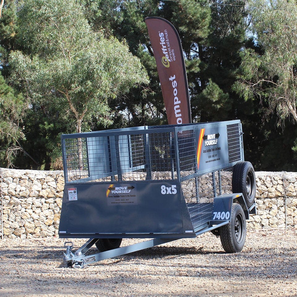 Move Yourself Cage Trailer Hire