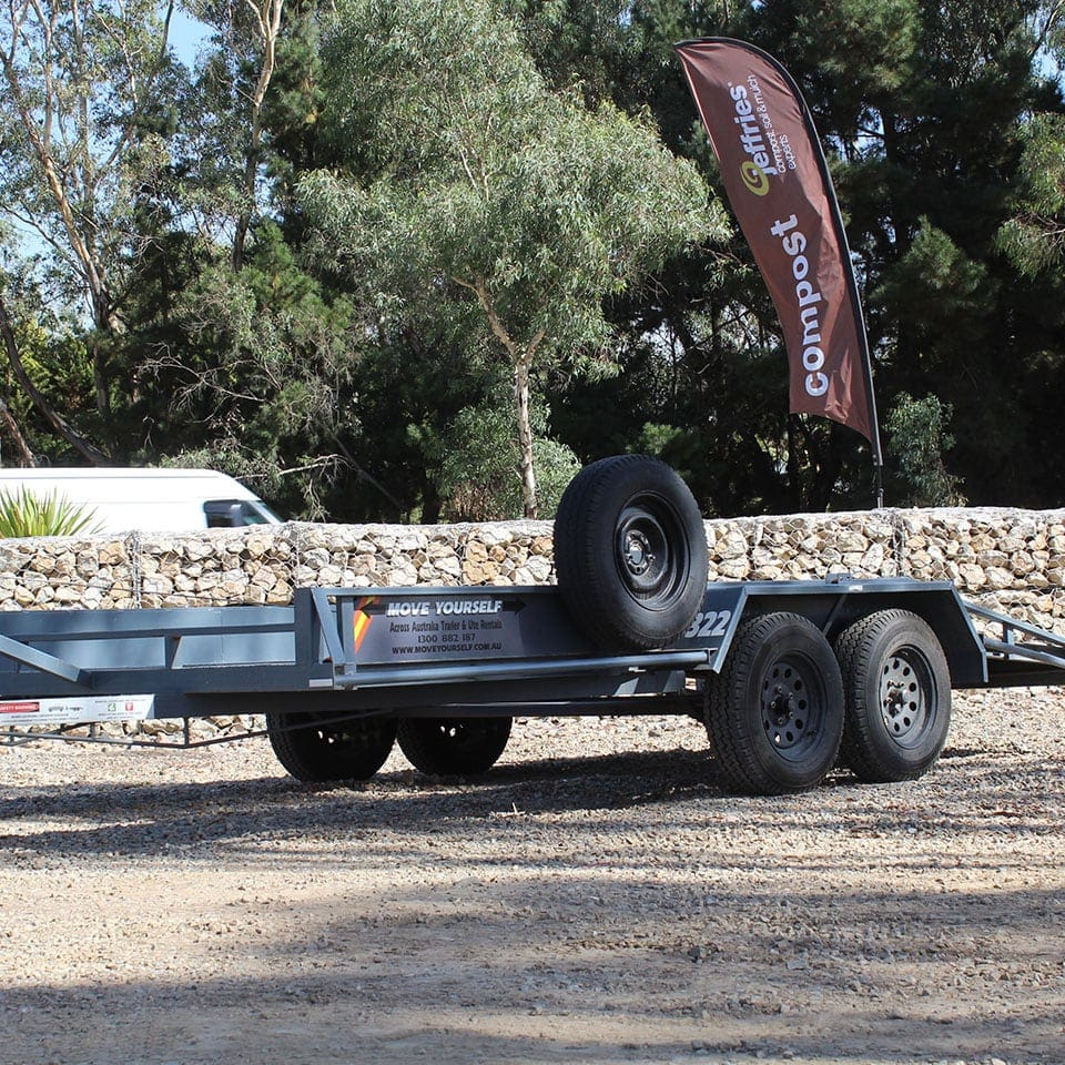 Move Yourself Car Carrier / Car Trailer Hire
