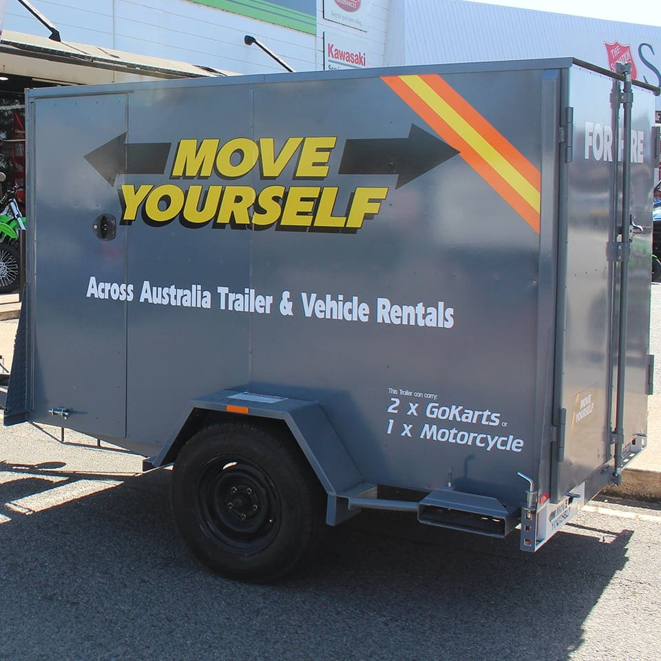 Move Yourself Bike & Go Kart Trailer Hire