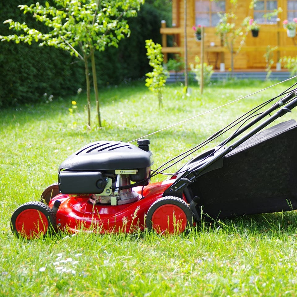 Move Yourself Lawn Mower Hire