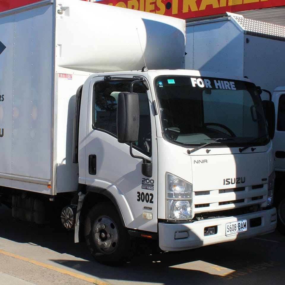 Move Yourself Moving Truck Hire